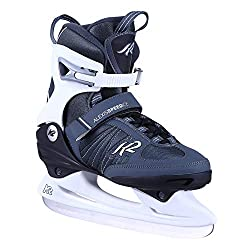 K2 Skates Damen Schlittschuhe Alexis Speed Ice — black - white — EU: 40.5 (UK: 7 / US: 9.5) — 25C0080