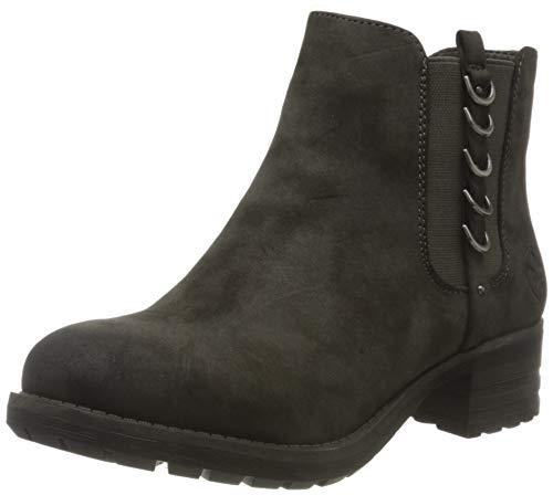 Rieker Damen 96852 Chelsea Boots, Grau (anthrazit 45), 40 EU