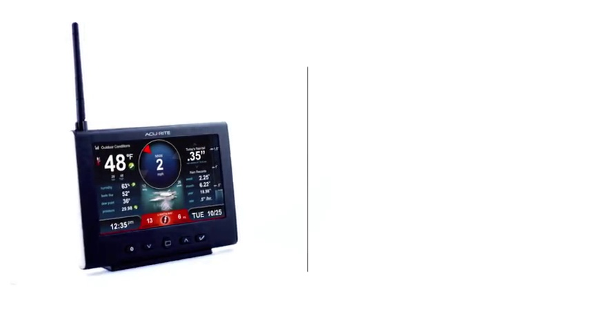Lightning Detector Rain, AcuRite 01024M Pro Weather Station with HD Display