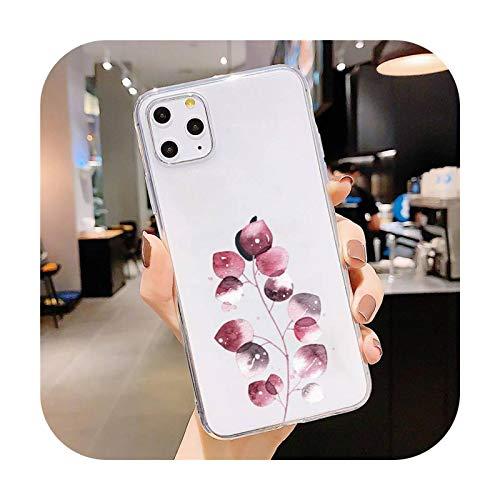 Funda para iPhone 5, 5S, 5C, SE, 6, 6S, 7, 8, 11, 12 Plus, Mini, XS, XR, Pro max-a12, para iPhone 11