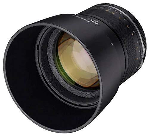 Samyang MF 85mm F1,4 MK2 Fuji X – Porträt Objektiv manueller Fokus für Vollformat und APS-C Festbrennweite Fuji X Mount, 2. Generation für Fujifilm X-T1, X-T3, X-H1, X-T30, X-Pro3, X-T200, X-T4