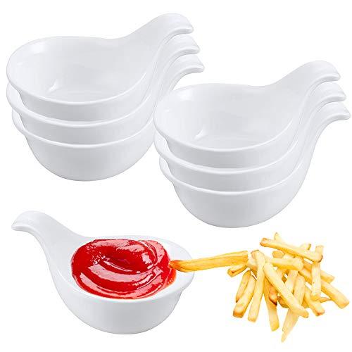 Dipping Bowls Set White Serving
