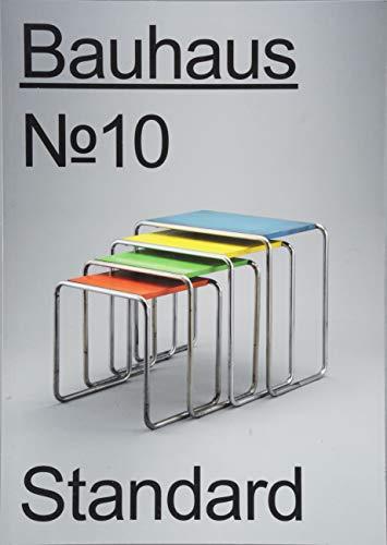 Bauhaus N° 10: Standard (bauhaus. Die Zeitschrift der Stiftung Dessau)