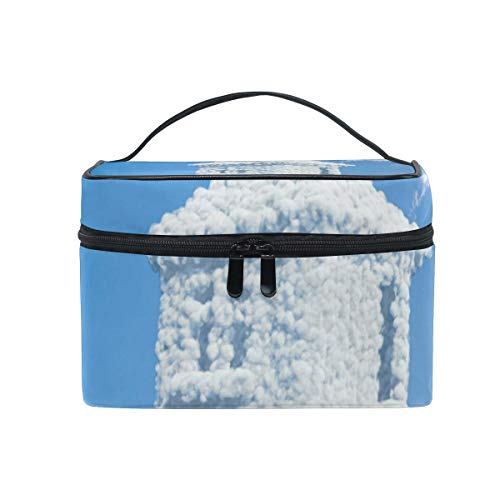 Make-up Cosmetic Bag Sky Grappige Cloud Thuis Draagbare Opslag met Rits