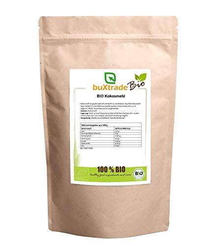 1 kg BIO Kokosmehl | teilentölt | gemahlen | Glutenfrei | Cocos | Mehl | Kokos | Backen |