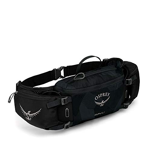 Osprey Packs Savu Lumbar Hydration Pack, Obsidian Black