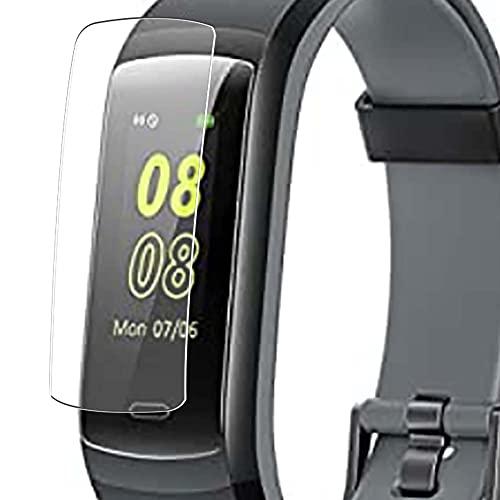 Vaxson 3 Stück Schutzfolie, kompatibel mit Willful YAMAY SW351 Fitness Tracker smartwatch, Displayschutzfolie TPU Folie [ nicht Panzerglas ]