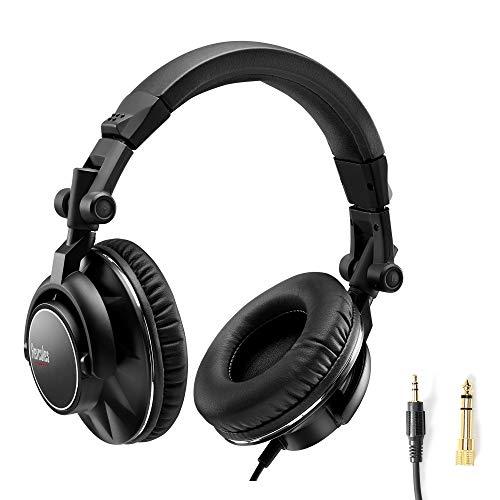 Hercules HDP DJ60 – Auriculares para DJ de calidad profesional - Alto...