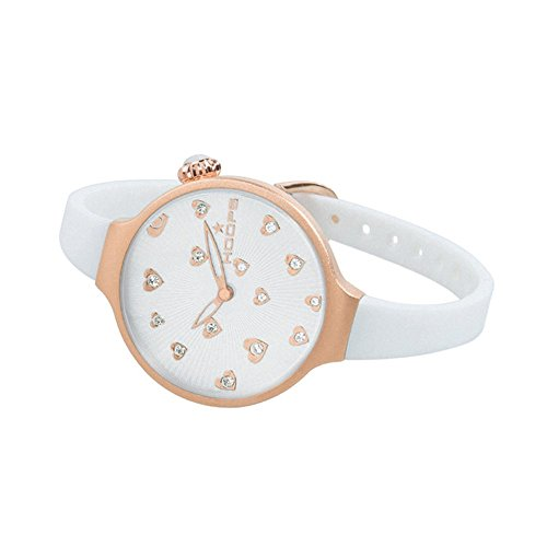Orologio Donna Icon Hearts Bianco 2562LL-02 - Hoops