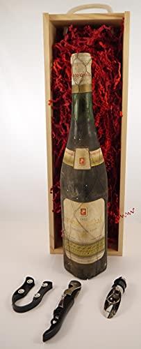 Rioja 1955 Yago Condal en una caja de regalo con tres accesorios de vino, 1 x 750ml