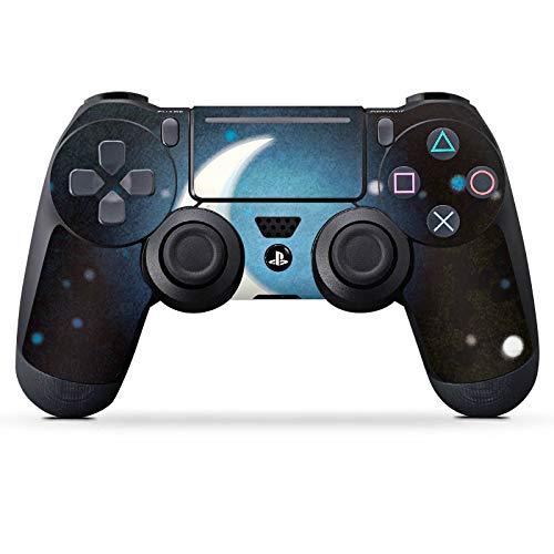 DeinDesign Skin kompatibel mit Sony Playstation 4 Pro PS4 Controller Aufkleber Folie Sticker Zeichnung Wald Forest