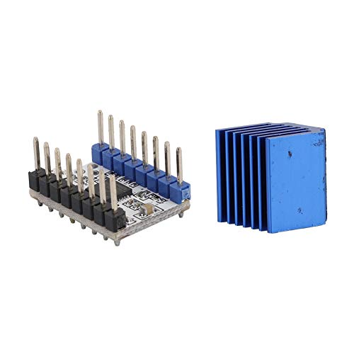 Stepper Motor Driver Module, 5pcs Heat Sink Microplyer Interpolation Unit Abs and Metal Made Drive Current