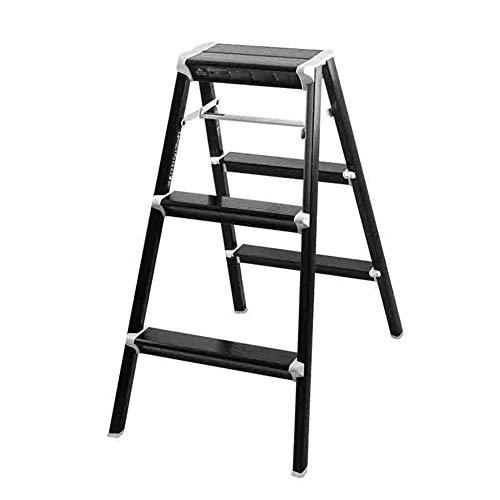 Escabeau d'escalier en métal de ménage Tabouret d'escalier pliant d'escalier en métal Escabeau (Size : 3 step)