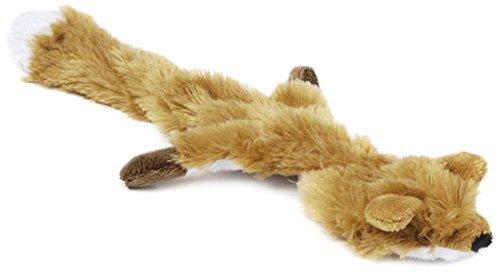 Beeztees 619625 Flatino Plueschfuchs, 30 cm, braun