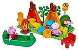 BIG- Bloxx PP Camping Peppa Pig - Set de Acampada (25 Piezas, para niños a Partir de 18 Meses),...