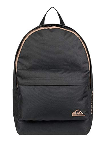 Quiksilver Small Everyday Edition, Zaino Medio Uomo, Black, Taglia Unica
