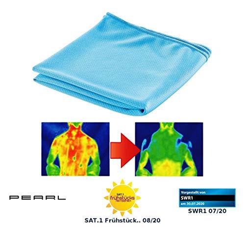 PEARL Kühltücher: Aktiv kühlendes Multifunktionstuch, 110 x 55 cm (Kühltücher für Menschen)