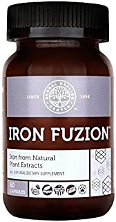 Global Healing Center Iron Fuzion Supplement from Natural Plant Extracts with Blend of Organic Thyme &