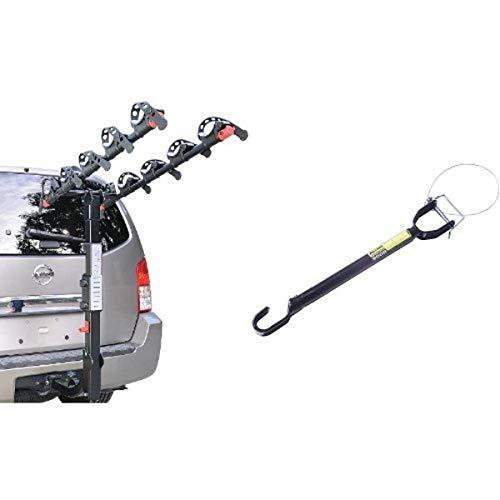 Allen Sports Premier Hitch Mounted 5 Bike Heavy Duty Rear Car Rack /& Carrier