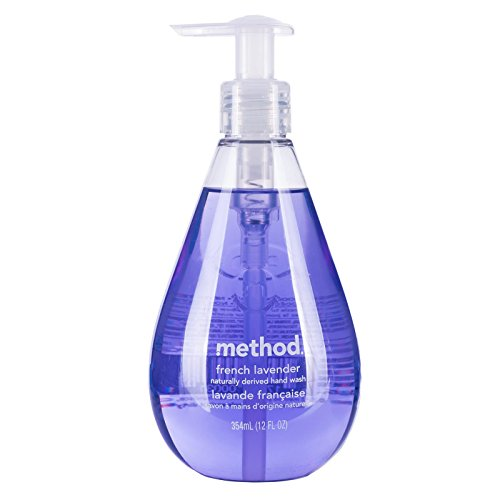 Method Gel Hand Wash, French Lavender, 12 ounce