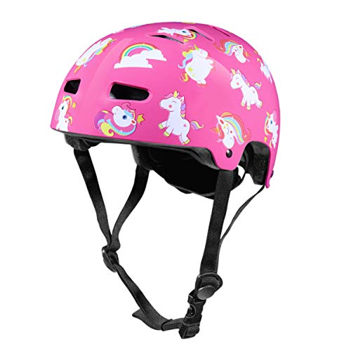 CLISPEED Kids Bike Helmet, Adjustable and Multi-Sport Bicycle Helmets for 3-8 Years, Toddler Youth Sports Protective Gear for Skating Cycling Scooter - CPSC Certified
