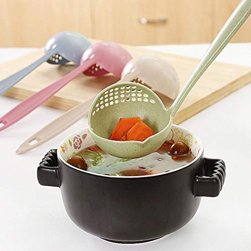 Voiks New Kitchen Hot Pot Soup Spoon Colander 2 in 1 Daily...