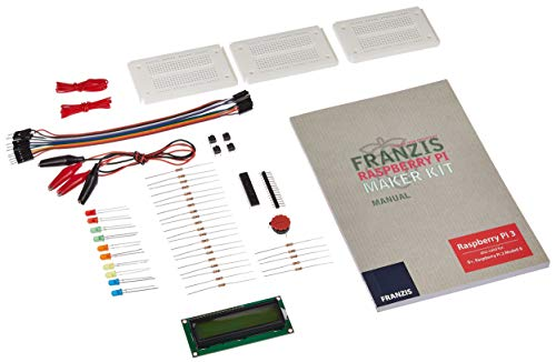 Franzis Raspberry Pi Maker Kit: 20 AMAZING PROJECTS, BUILD...