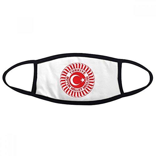 DIYthinker Türkei Asien National Emblem Gesicht Anti-Staubmaske Anti Kälte Maske Geschenk
