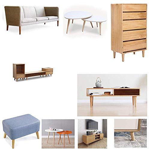 ZXL Vierdelige kast, voeten, massief houten meubels, poten, keukenwerkblad, tv-tafel, hoek voor sofastoelen