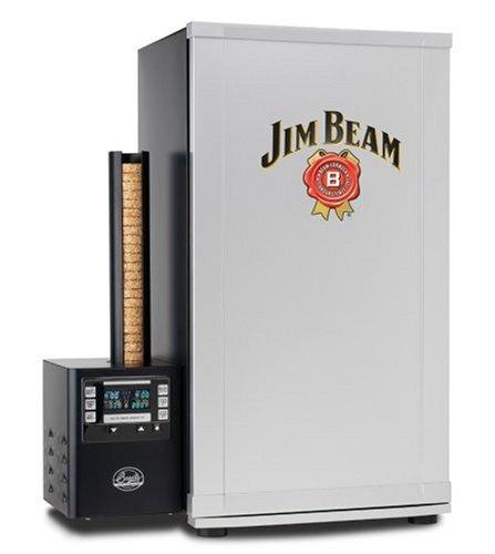 Bradley Smoker Jim Beam BTDS76JB 4-Rack Digital Outdoor Smoker