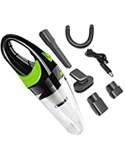 A-TION Wireless car vacuum cleaner, 6500 KPA Forte Cleaner Auto Vuoto di Potere Dc 12V 120W Cordless Umido E Secco a Duplice Uso Auto Portatile aspiratori Cleaner per Home Office