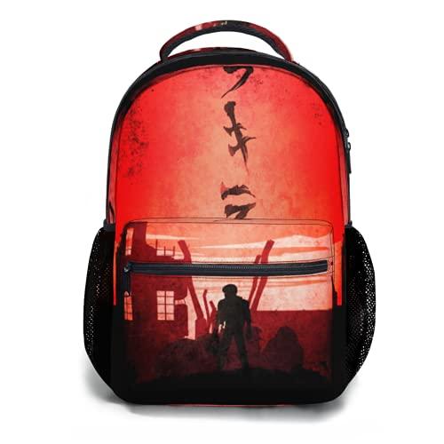 Toplived Cowboy Bebop Faye Mochila para niños, mochila para estudiantes, 47 cm, Colorido 21, Talla única