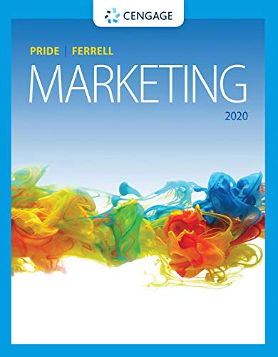 Compare Textbook Prices for Marketing MindTap Course List 20 Edition ISBN 9780357033791 by Pride, William M.,Ferrell, O. C.