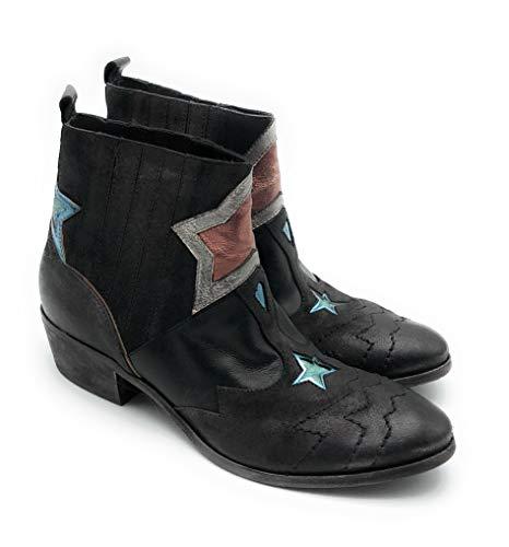 Strategia - E1223 - Boot/Stiefelette - lav-Cielo-Pesca Size 40