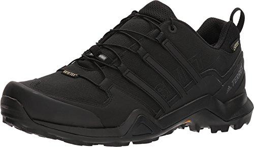 adidas mens Terrex Swift R2 Gore-tex Hiking Black/Black/Black 10.5
