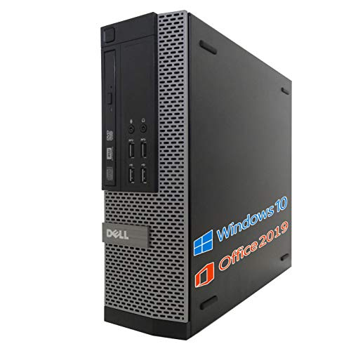 DELL デスクトップPC 7010/MS Office 2019/wajun XS PCバッグセット/Win 10/Core i7-3770/HDMI/WIFI/Bluetooth/DVD/16GB/1TB HDD (整備済み品)