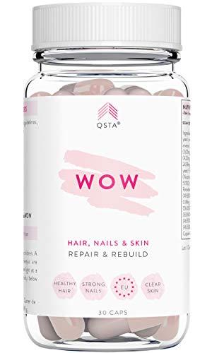 Keto Complete WOW (30 DAYS) - Hydrolysed Collagen VERISOL + Biotin + Folic Acid + Vitamins A + E + B1 + B2 + B6 + Panthotenic Acid - For Hair, Skin, Nails & Joints, AVOIDS KETO DIET DEFICIENCIES