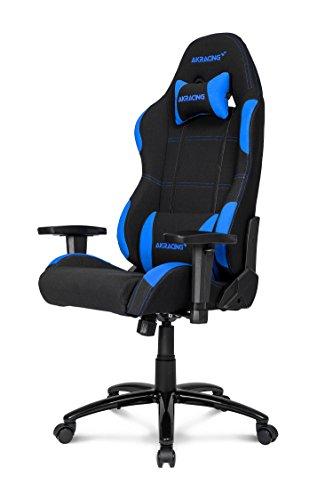 AKRacing K7012 - AK-K7012-BL - Silla Gaming, Color Negro/Azul
