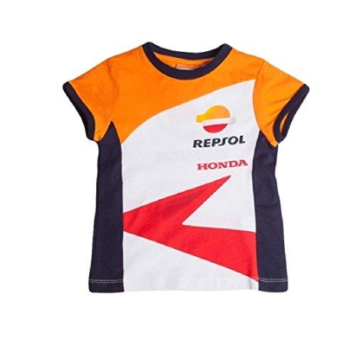HONDA Repsol Moto GP équipe T-shirt pour enfant officiellement 2017, orange weiß