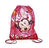 Minnie Mouse AD-WD11392 2018 Bolsa de Cuerdas para el Gimnasio, 44 cm, Multicolor