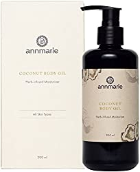 Coconut Body Oil from Annmarie
