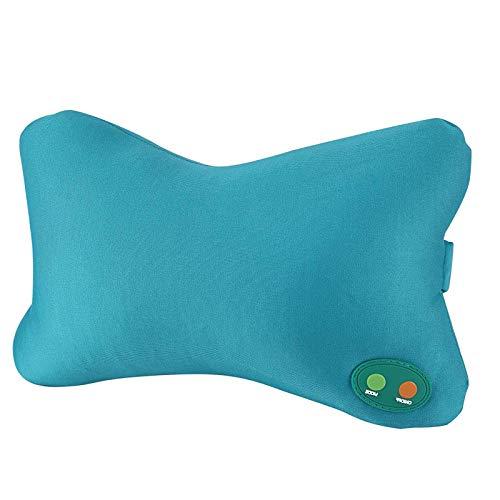 YuuHeeER 1 almohada de masaje eléctrica suave para el cuello, cojín masajeador...
