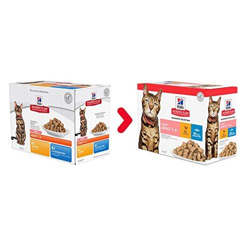Hill's Katze Erwachsene Multipack Poultry Selection, 1er Pack (1 x 1.2 kg)
