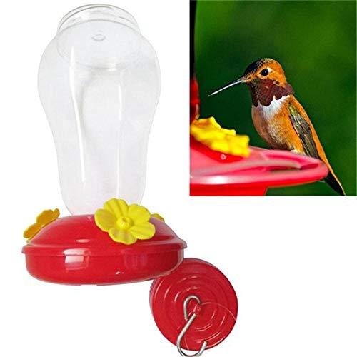SUYIN Kolibri Feeder Kunststoffe Vogel Wasser Feeder Flasche Garten Outdoor Yard Fenster Vogelfutter Feeder Trinker Vogelfutter Haustier Produkte