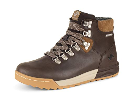 Forsake Patch - Women's Waterproof Premium Leather Hiking Boot (7 M US, Mocha/Tan)