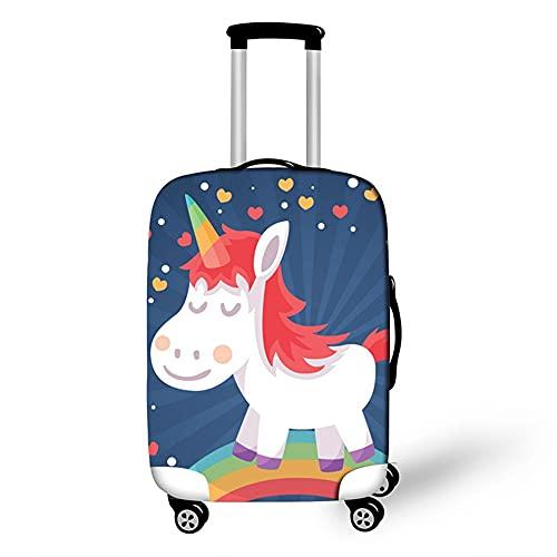 Cover Proteggi Valigia Elasticizzata, Morbuy Suitcase Bagagli Luggage Cover Valigia Anti-graffio Anti-Polvere Elastico Custodia Protettiva da Viaggio (cartone animato,S)