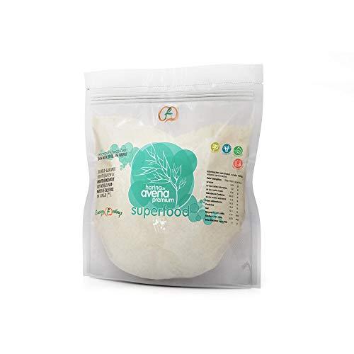 Harina de Avena premium ECO sin gluten Energy Feelings 1 Kg