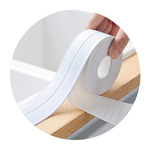 Selbstklebende Dichtband,Wasserdichtes klebeband,Auf die küche/toilette/badezimmer in der ecke.Verhindert, dass Feuchtigkeit und verhindert Schimmel