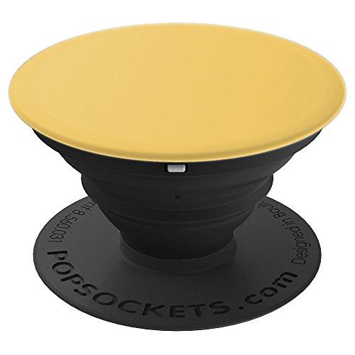 Mimose gelb (Mimosa Yellow) - PopSockets Ausziehbarer Sockel und Griff für Smartphones und Tablets