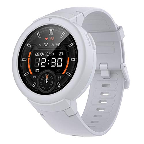 AMAZFIT Verge Lite Bluetooth Smartwatch Έλεγχος γυμναστικής (White Snowcap)